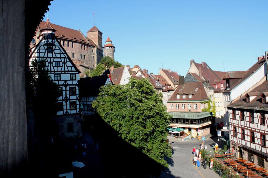 Abenteuer in 60 Minuten Blick auf die Nürnberger Burg
