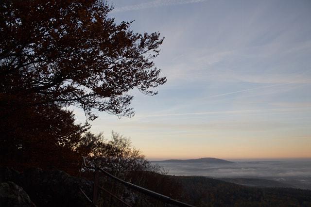 Jahresrückblick 2016: Morgen am Glatzenstein