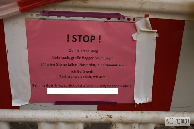 Rothenburg_Schild Stop