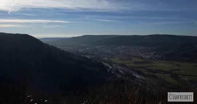 Zuckerhut bei Birkenreuth_Blick auf Ebermannstadt