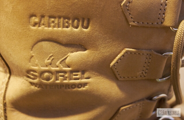 Schuhe_Sorel Caribou Eisbär Logo