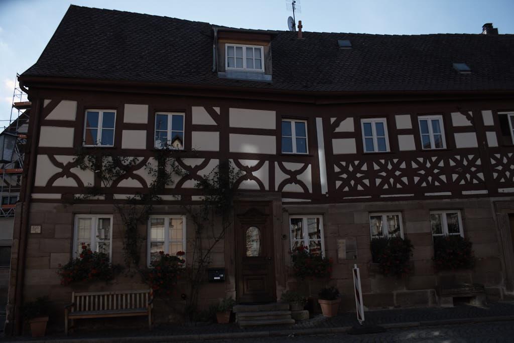Radtour von Fürth nach Cadolzburg_Fachwerkhaus