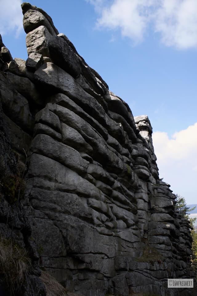 Wanderung auf den höchsten Berg Frankens_Am Rudolfstein II