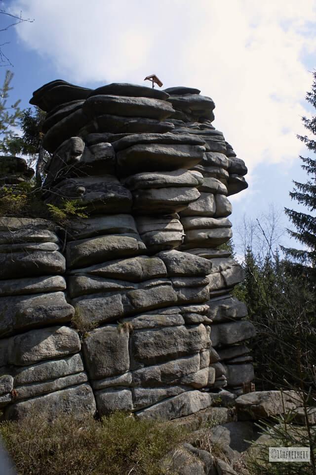 Wanderung auf den höchsten Berg Frankens_Drei Brüder