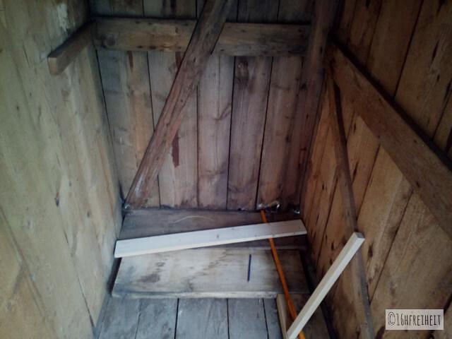 Komposttoilette für den Garten selber bauen_Toilettenraum