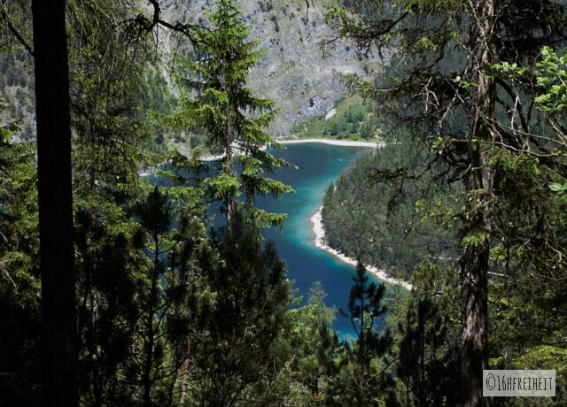 Wanderung zum Blindsee_Blick zum Blindsee