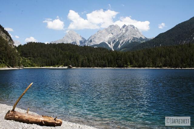 Wanderung zum Blindsee_Am See