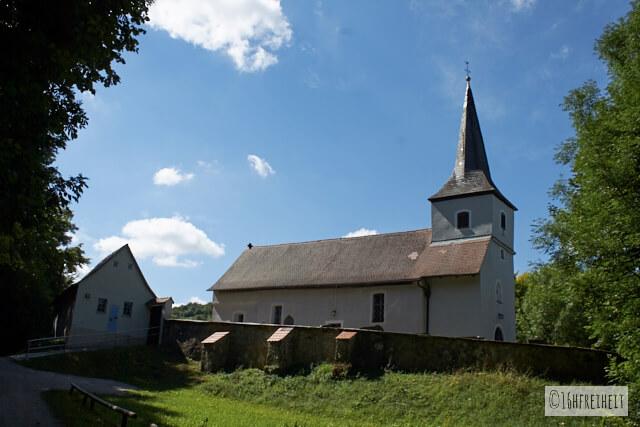 Fränkische Schweiz A-Z - Ortspitz- Kapelle St. Moritz
