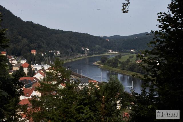 Sächsische Schweiz_fuer_Eilige_Blick auf Königstein